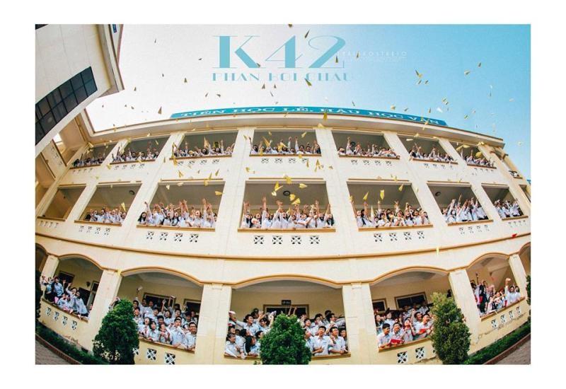 Bộ ảnh kỷ yếu cực chất của học sinh Trường Phan Bội Châu - ảnh 3