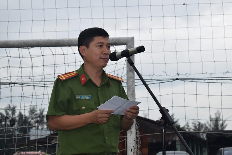 Trung tá Lê Mạnh Hà