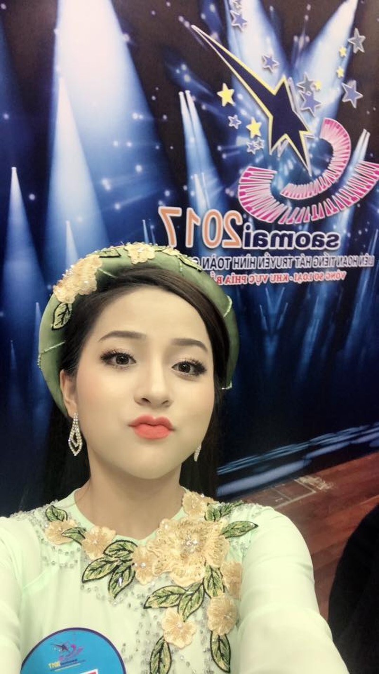 Hot girl ví dặm xứ Nghệ giành giải nhì Sao mai điểm hẹn - ảnh 6