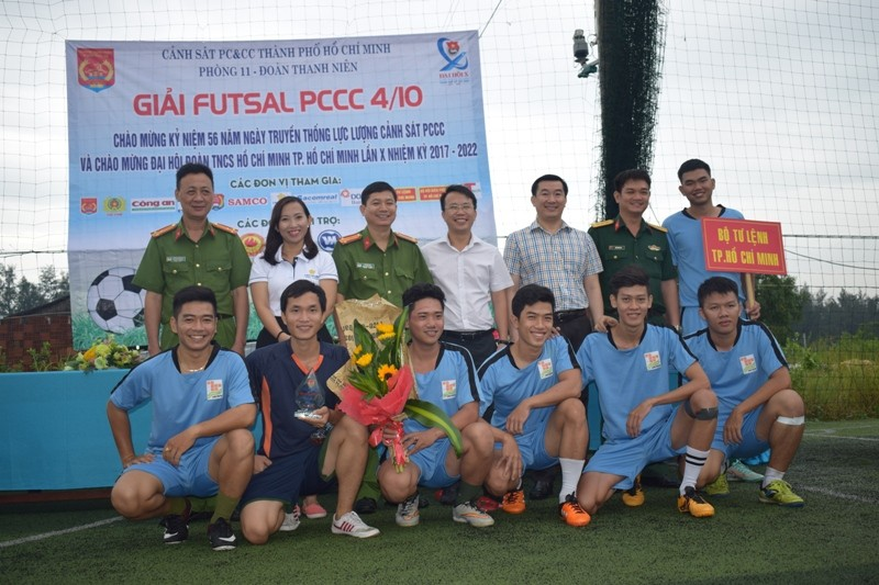 Cảnh sát C50 Bộ công an vô địch giải bóng đá Futsal - ảnh 8