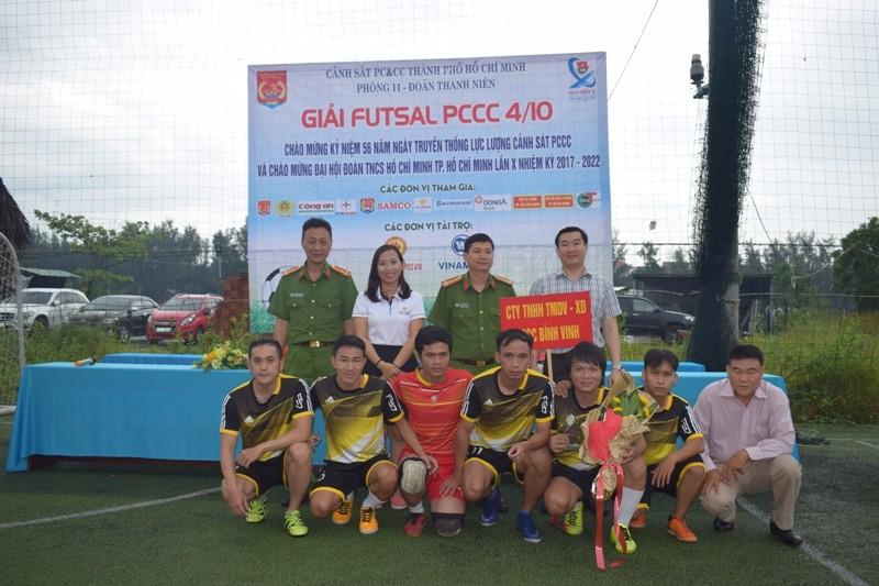 Cảnh sát C50 Bộ công an vô địch giải bóng đá Futsal - ảnh 10