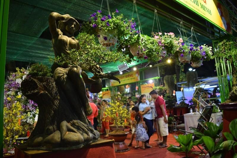 Cây kiểng, bonsai độc lạ làm khách hàng trầm trồ - ảnh 6