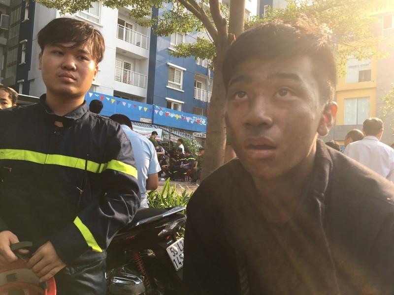 Carina cháy 2 tiếng cảnh sát PCCC mới tới là bịa đặt - ảnh 1