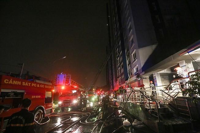 Tòa nhà, chung cư có dễ cháy hơn nhà dân đơn lẻ? - ảnh 1
