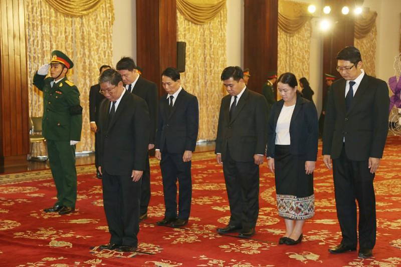 Nhiều đoàn ngoại giao đến viếng Chủ tịch nước tại TP.HCM - ảnh 6