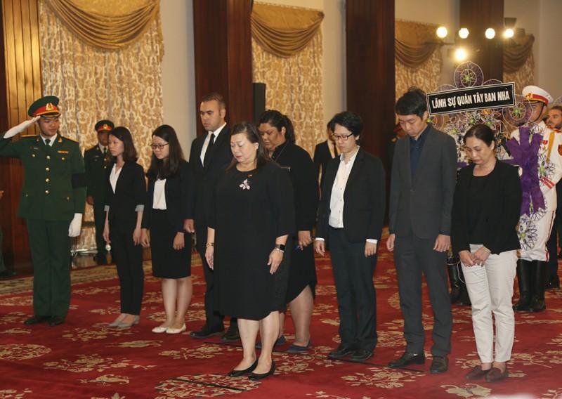 Nhiều đoàn ngoại giao đến viếng Chủ tịch nước tại TP.HCM - ảnh 8