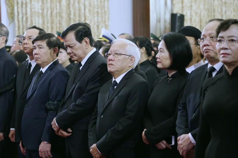 Xúc động hình ảnh lễ truy điệu Chủ tịch nước tại TP.HCM - ảnh 3