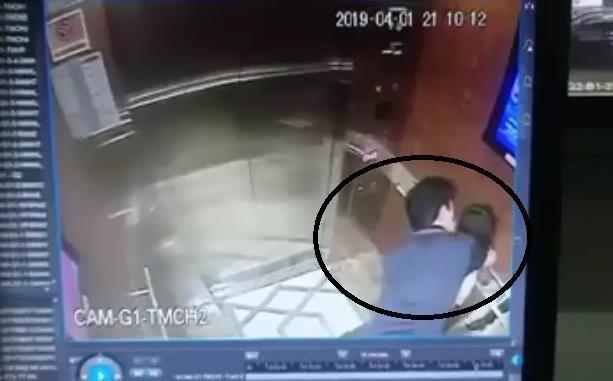Đã xác định người đàn ông sàm sỡ bé gái trong thang máy quận 4 - ảnh 1