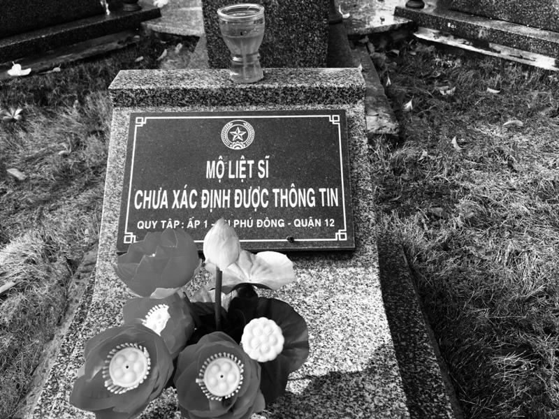Tản mạn trong Nghĩa trang liệt sĩ chiều 30-4  - ảnh 1