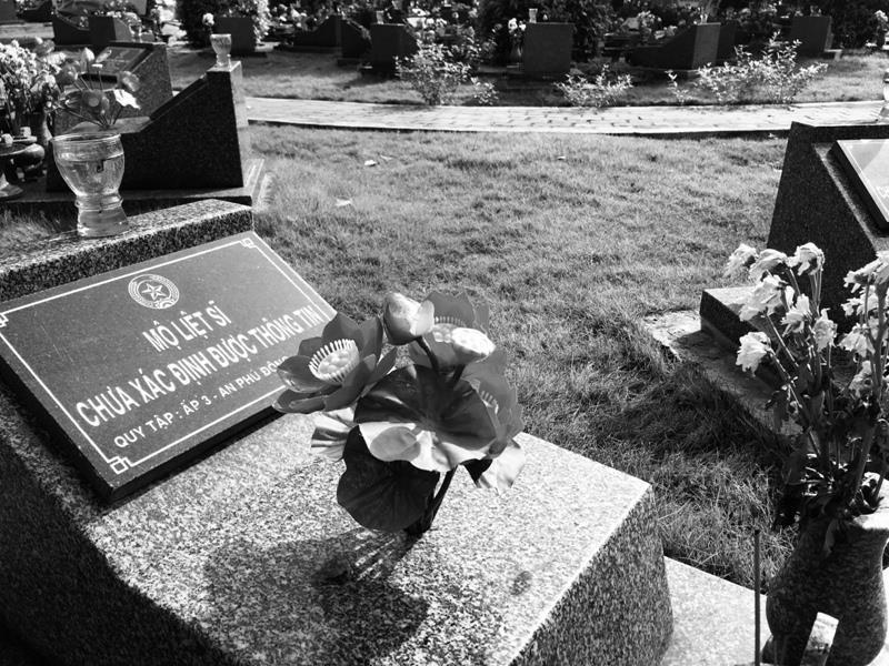 Tản mạn trong Nghĩa trang liệt sĩ chiều 30-4  - ảnh 4