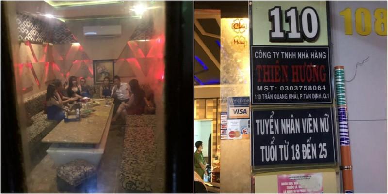 Quán karaoke chui cho tiếp viên mặc hở bạo ở quận 1 - ảnh 1
