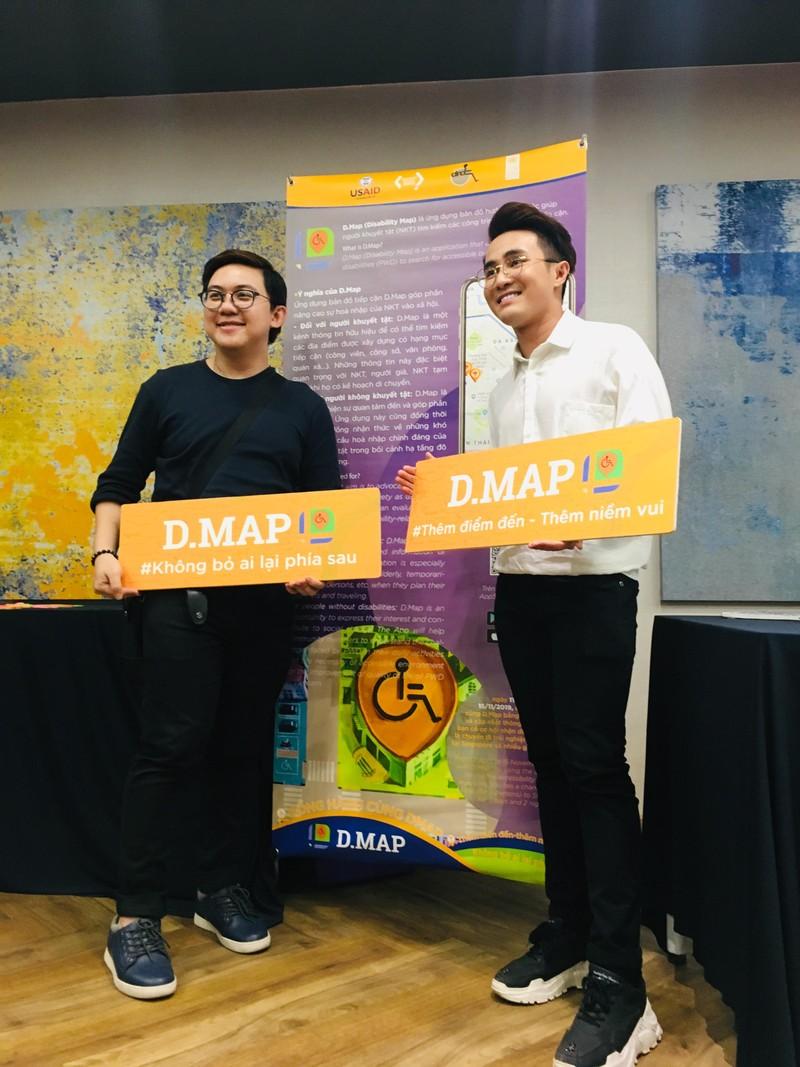 Huỳnh Lập 'đốn tim' fan khi dự cuộc thi về người khuyết tật - ảnh 9