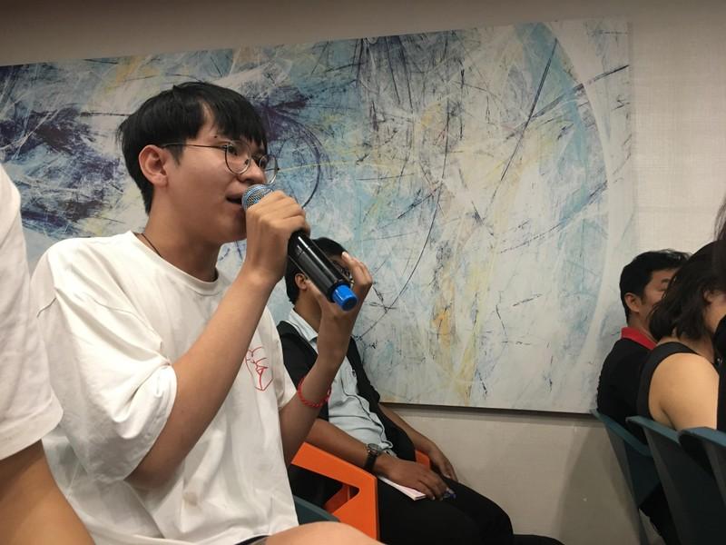 Huỳnh Lập 'đốn tim' fan khi dự cuộc thi về người khuyết tật - ảnh 3