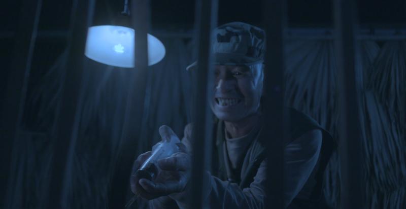 Ám ảnh ánh mắt chú gấu trong phim ngắn 'trích hút mật gấu…' - ảnh 1