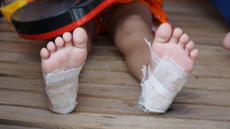 Vụ bé gái 4 tuổi bị bạo hành: Đã bắt người cha dượng  - ảnh 2