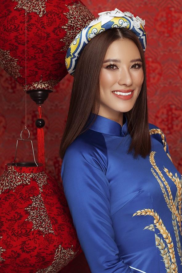 Dàn người đẹp Hoa hậu Hoàn vũ rạng ngời trong bộ ảnh Tết - ảnh 8