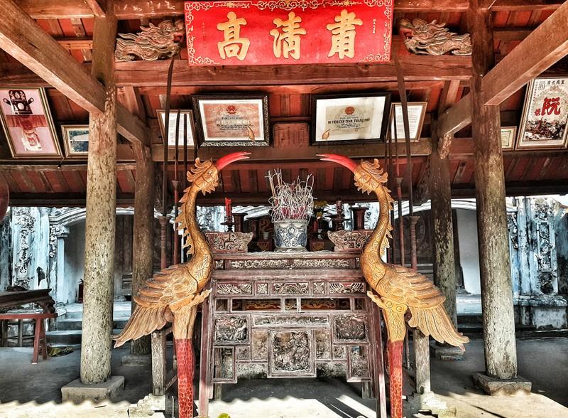 Uy nghiêm phủ thờ hàng trăm năm lịch sử ở Nghệ An - ảnh 8