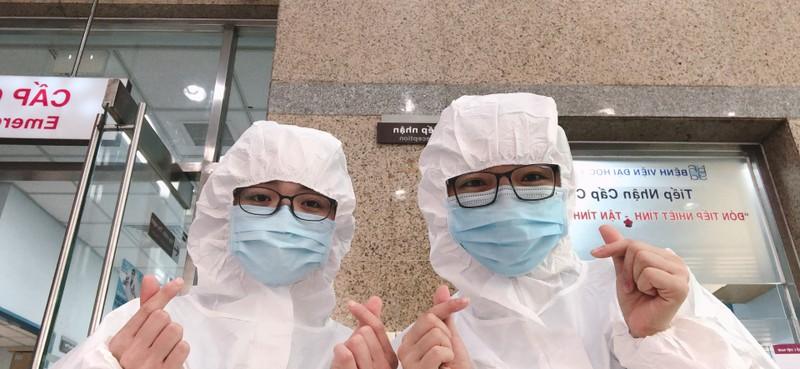Bình yên ngắm bức ảnh của nữ hộ sinh Bệnh viện ĐH Y Dược - ảnh 5