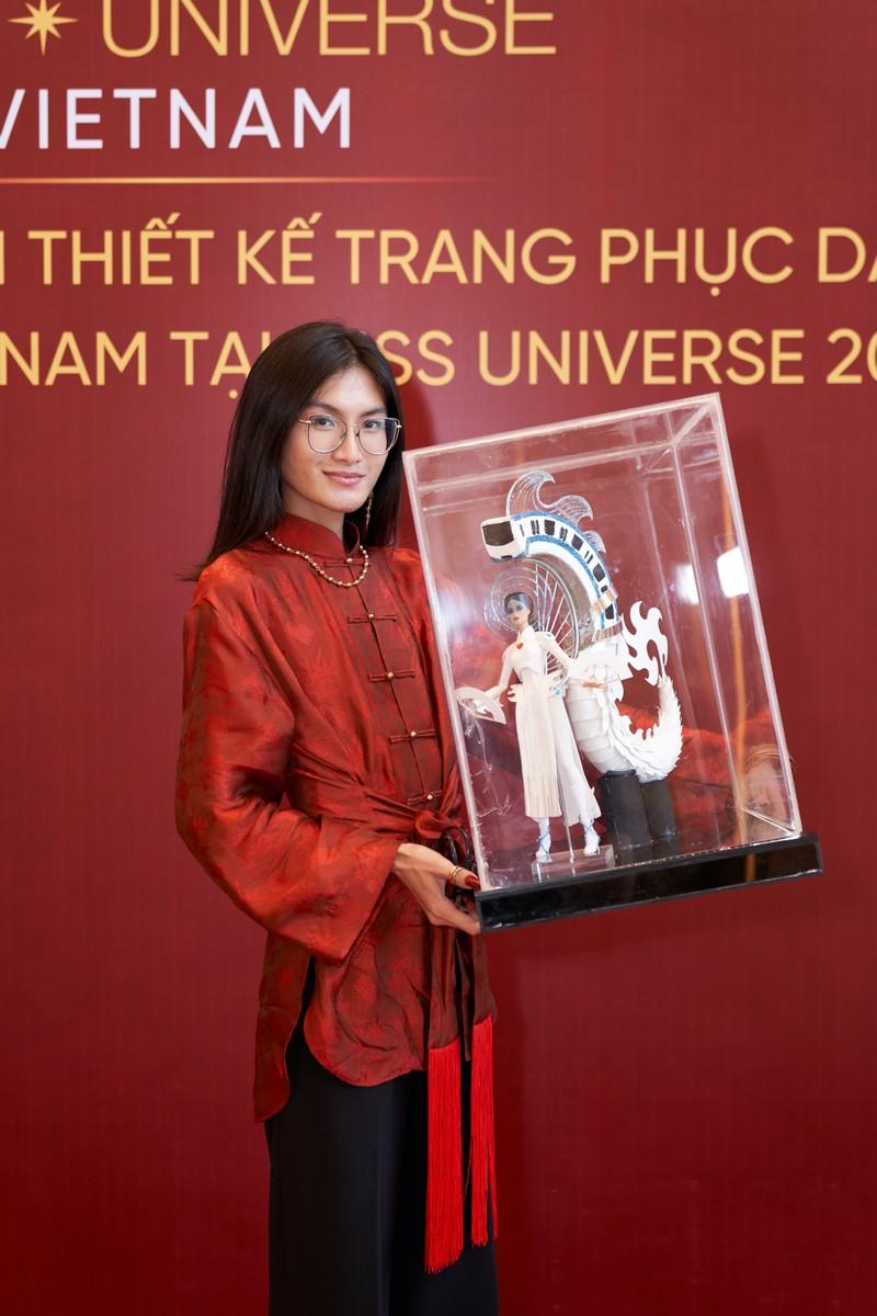 Hé lộ trang phục dân tộc cho Khánh Vân tại Miss Universe 2020 - ảnh 4