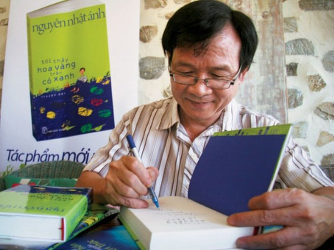 Nhà văn Nguyễn Nhật Ánh không giao lưu trong lễ hội sách - ảnh 1