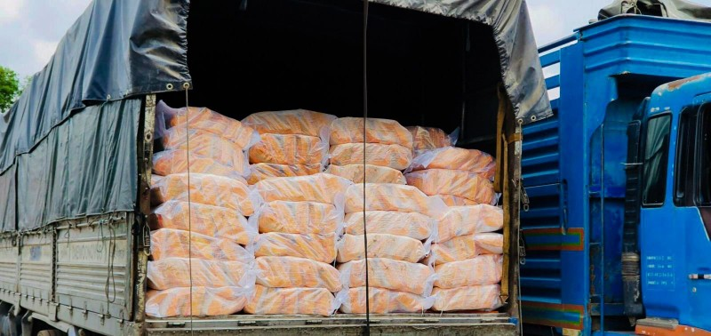 Chung tay góp gạo, thiết bị y tế cho người Việt ở Campuchia - ảnh 2