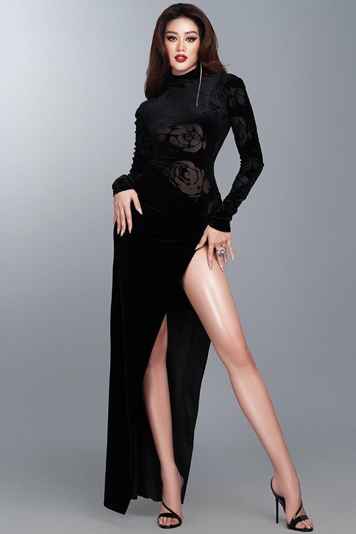 Hoa hậu Khánh Vân nóng bỏng với đầm dạ hội quyến rũ - ảnh 6