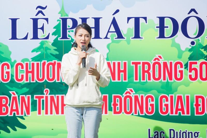 Dàn mỹ nhân Miss Earth Việt Nam trang phục giản đi trồng cây - ảnh 4