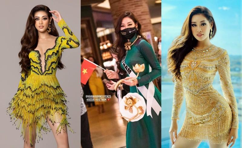 Nhìn lại hành trình bứt phá của Khánh Vân tại Miss Universe - ảnh 3