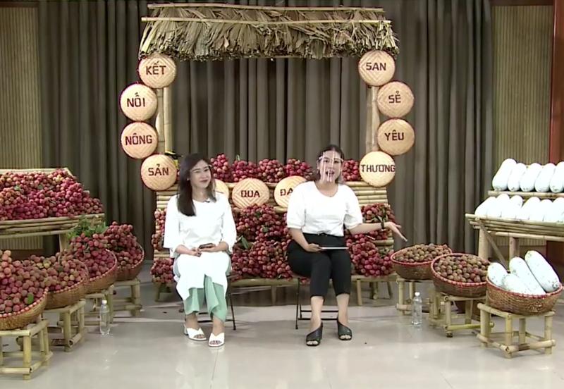Nghệ sĩ Việt livestream bán vải thiều, mận, bí xanh…giúp bà con - ảnh 2