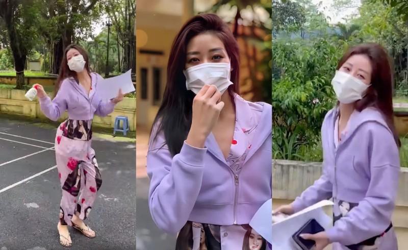 Hoa hậu Khánh Vân về Việt Nam: 'Ở đâu cũng không bằng nhà mình' - ảnh 1