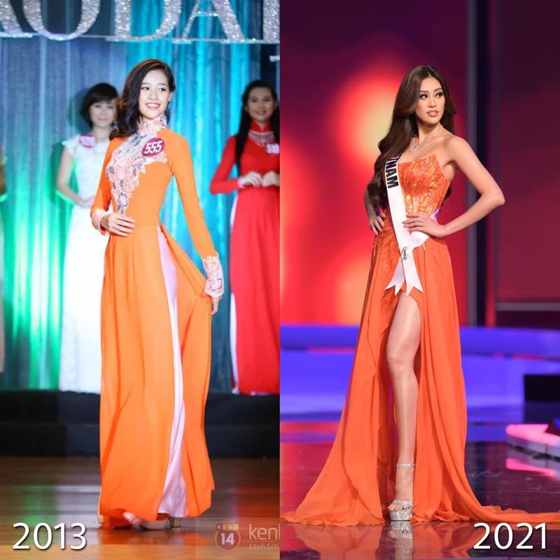 Hoa hậu Khánh Vân và 8 năm hành trình không mệt mỏi - ảnh 5