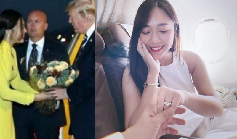 Cô gái tặng hoa Tổng thống Donal Trump ngày ấy giờ ra sao? - ảnh 1