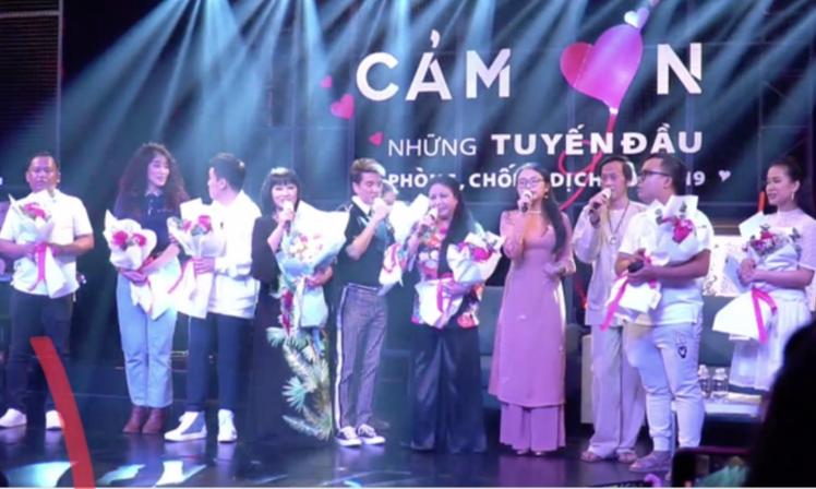 Sự thật clip Hoài Linh và Đàm Vĩnh Hưng kêu gọi ủng hộ tuyến đầu chống dịch - ảnh 2