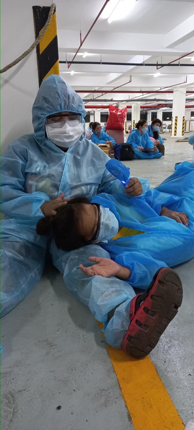 Diễn viên Kim Đào xúc động kể chuyện 15 ngày điều trị ở bệnh viện dã chiến - ảnh 1