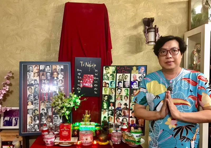 TP.HCM: Nghệ sĩ dâng hương cúng Tổ tại nhà trong mùa dịch - ảnh 6