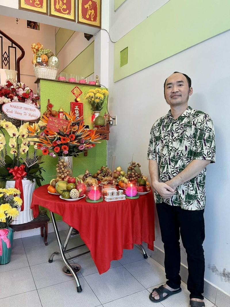 TP.HCM: Nghệ sĩ dâng hương cúng Tổ tại nhà trong mùa dịch - ảnh 7