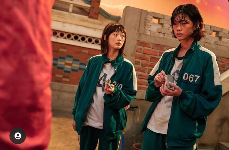 Ảnh ngoài đời của nữ người mẫu Hàn trong bộ phim 'Trò chơi con mực'  - ảnh 11