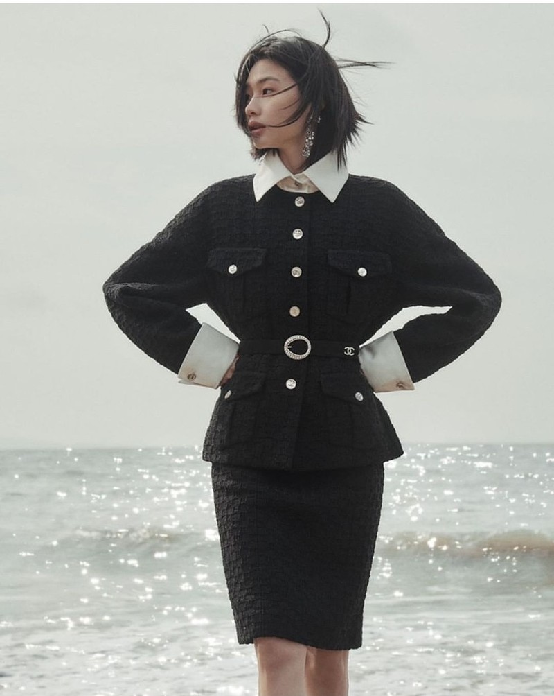 Ảnh ngoài đời của nữ người mẫu Hàn trong bộ phim 'Trò chơi con mực'  - ảnh 6