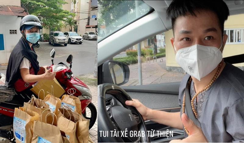 Ca sĩ Quách Tuấn Du thắng COVID, chạy xe máy mang thuốc giúp F0 ở TP.HCM - ảnh 1