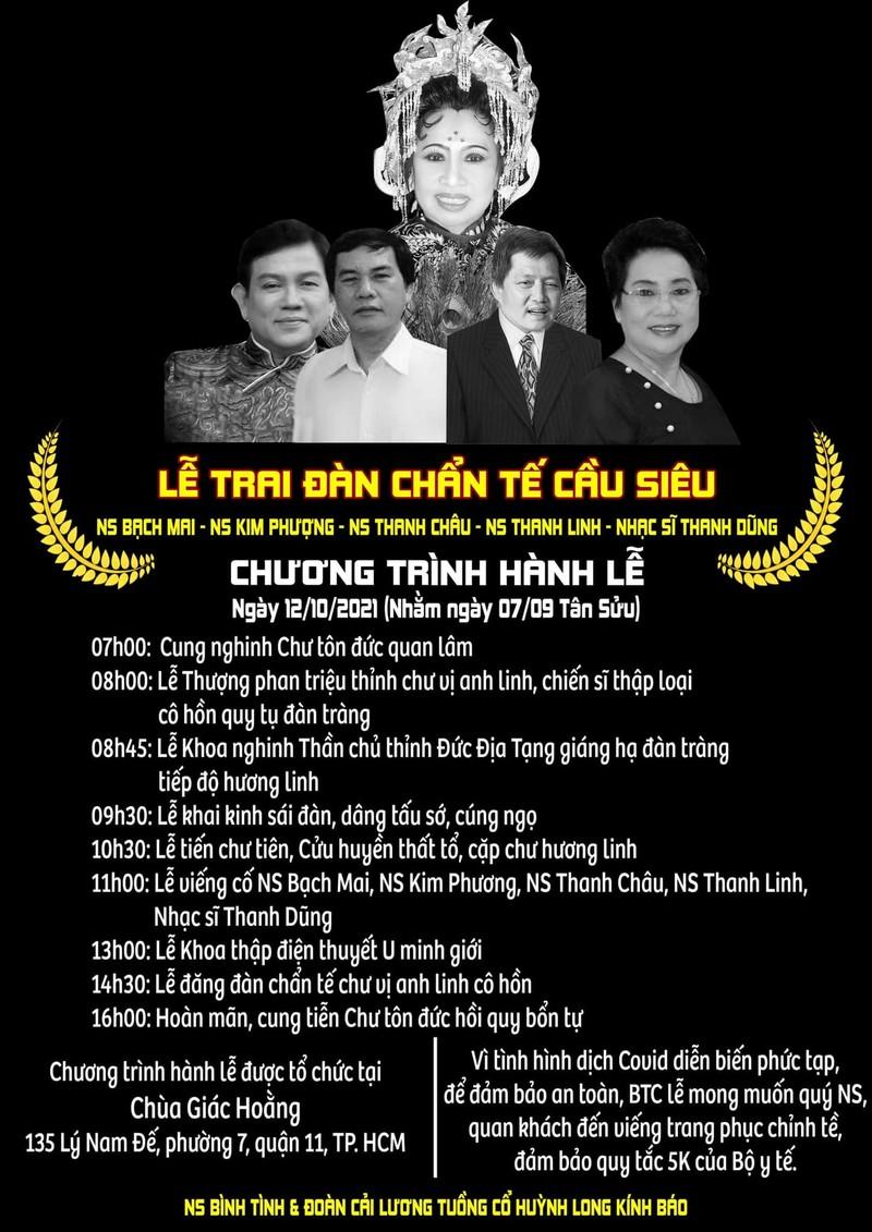 Nghệ sĩ Thanh Linh qua đời, gia tộc Huỳnh Long liên tục mất mát - ảnh 1