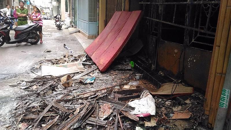 Cháy nhà ở quận 3, 6 người trong 1 nhà chết thảm  - ảnh 4