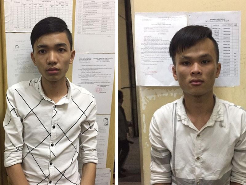 Băng cướp dùng nón bảo hiểm gây án ở Sài Gòn - ảnh 1
