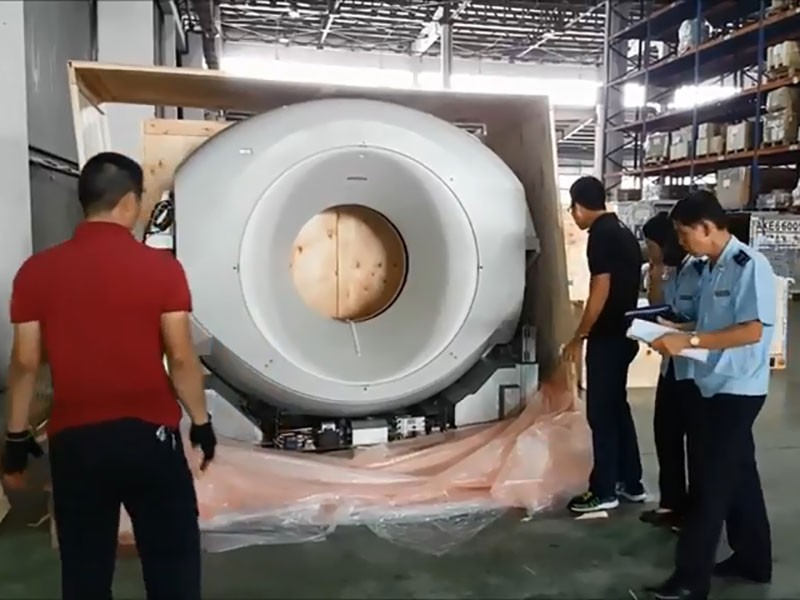 Khai mới máy chụp CT cũ để thông quan - ảnh 1
