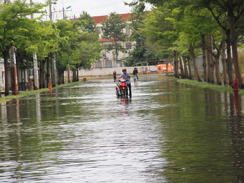 Nước ngập nhiều ngày ở KCN, nhiều công ty đóng cửa - ảnh 10