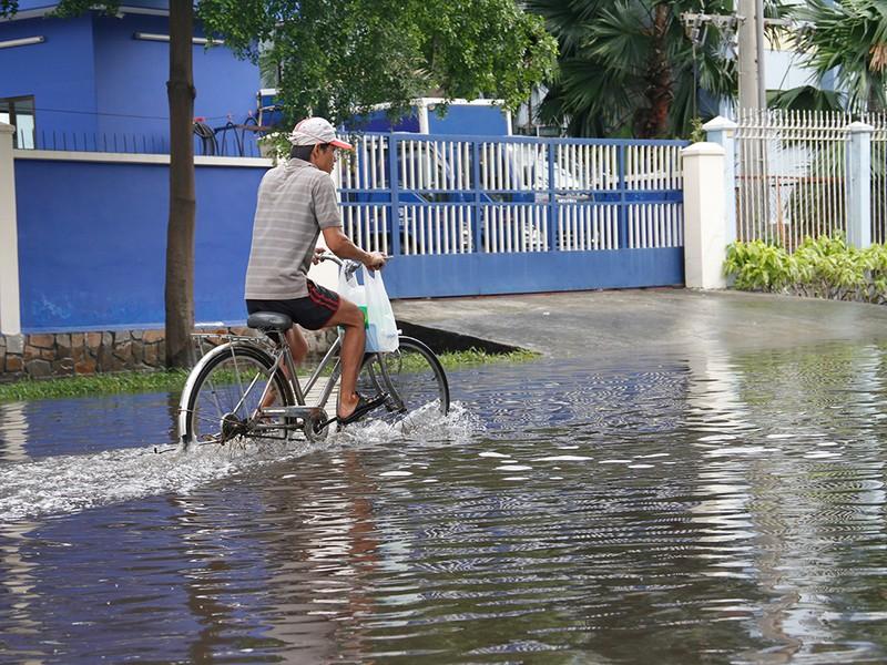 Nước ngập nhiều ngày ở KCN, nhiều công ty đóng cửa - ảnh 2