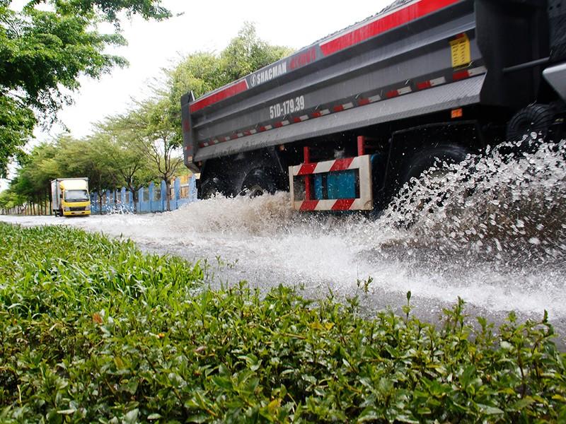 Nước ngập nhiều ngày ở KCN, nhiều công ty đóng cửa - ảnh 1