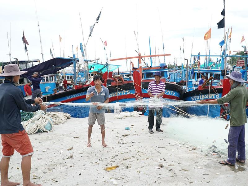 Dân Ninh Thuận chằng chống tài sản chống bão số 12 - ảnh 8