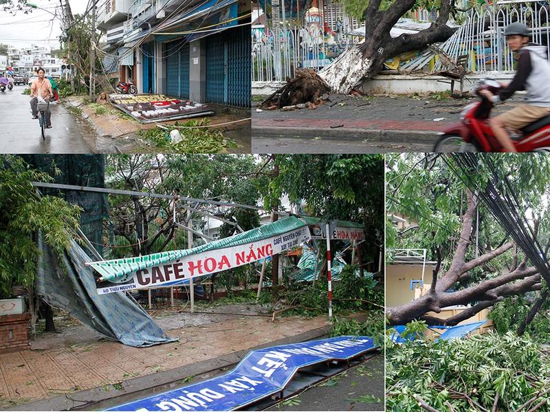 Người dân TP Nha Trang dồn sức khắc phục bão 12 - ảnh 1