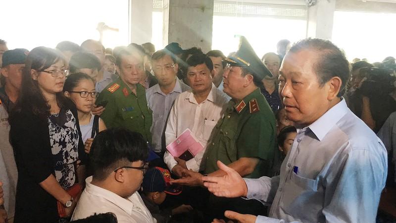 Người dân Carina kiến nghị gì với Phó Thủ tướng - ảnh 1