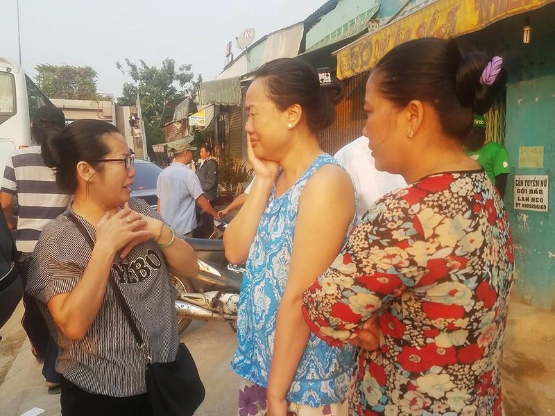 Xe tang đưa 3 nạn nhân 'nhìn' chung cư Carina lần cuối - ảnh 1